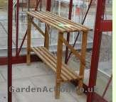 Greenhouse bench.  Click the picture to enlarge it.